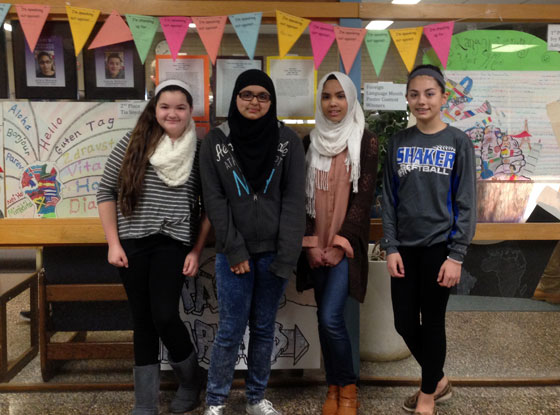 Winners of the 2016 Foreign Language Month Poster Contest