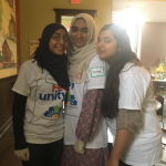 MSA students at St. Johns Outreach Center