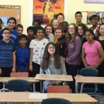 SJHS students received top scores on National French Exam