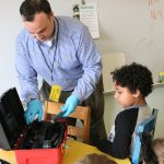 BC third graders get a visit from detective