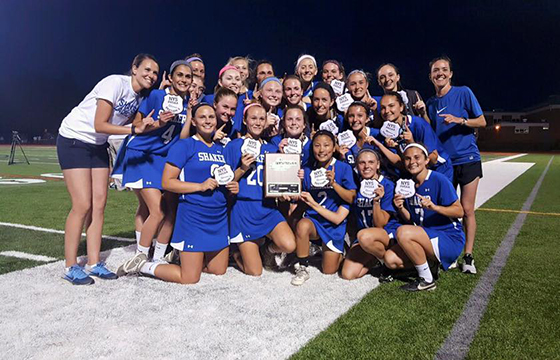 Shaker HS Girls Lacrosse team