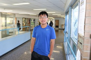 John Yin 9th grade student at Shaker High School.
