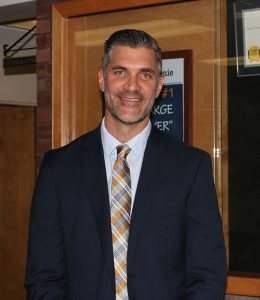 Marcus Puccioni, the newly appointed Boght Hills Elementary Principal