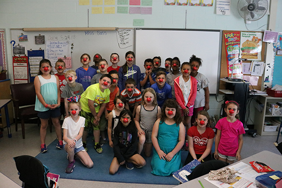 Red Nose Day at Blue Creek