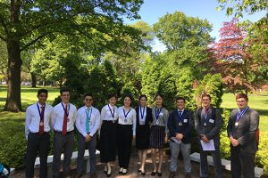 SHS students compete at NYS High School Business Plan Competition
