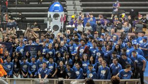 the shaker robotics team poses for a picture