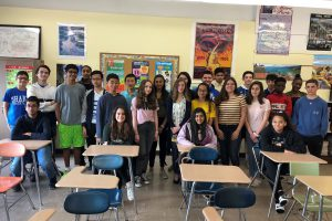 SJHS French students medal in national exam