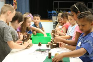 Latham Ridge students explore during annual STEAM Day