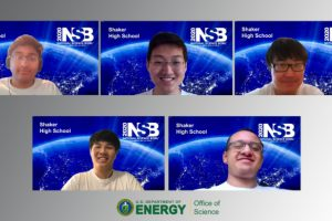 Shaker High School Science Bowl team competes in the National Science Bowl® Finals
